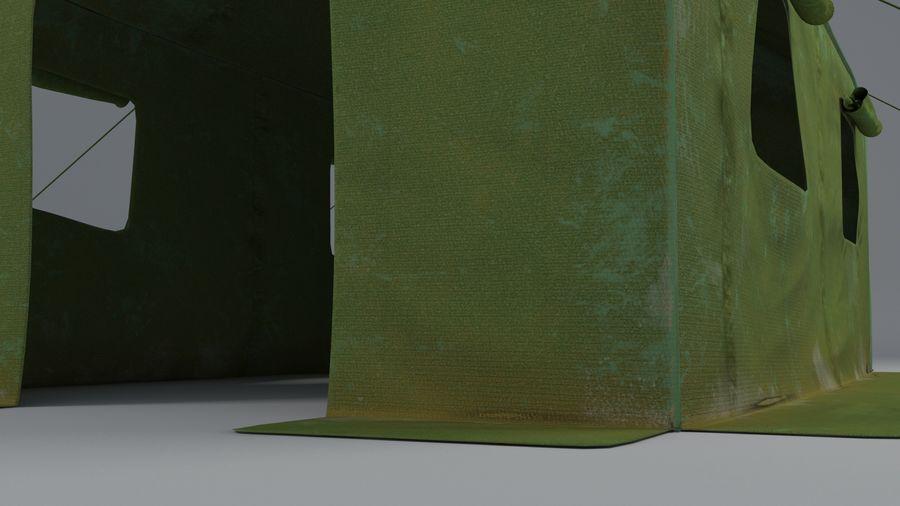 Tente armée royalty-free 3d model - Preview no. 4