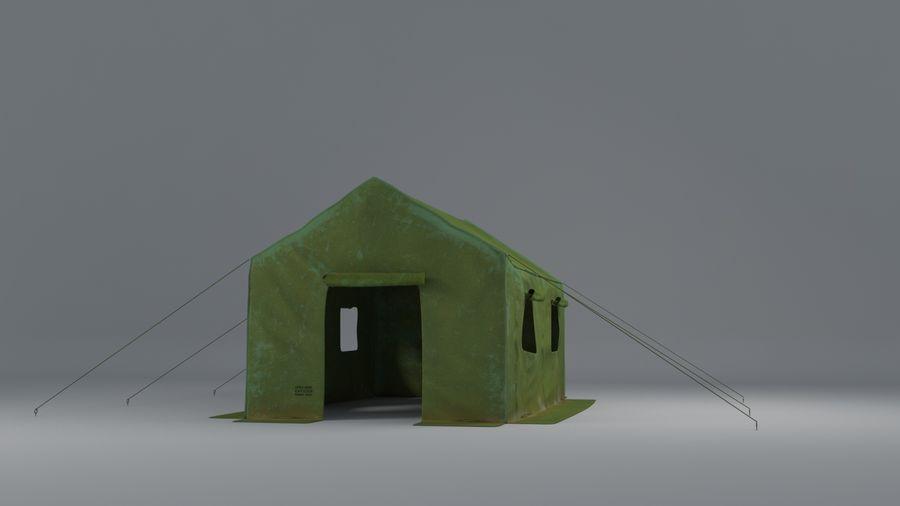 Tente armée royalty-free 3d model - Preview no. 2