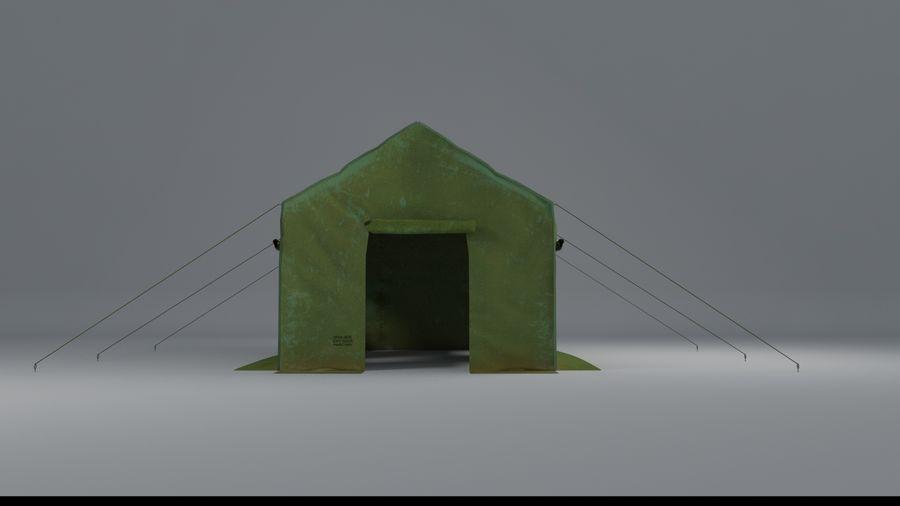 Tente armée royalty-free 3d model - Preview no. 9