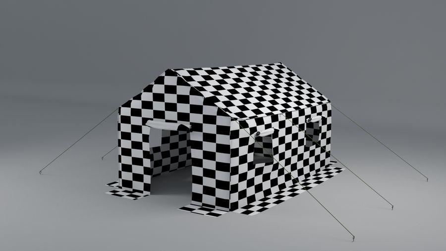 Tente armée royalty-free 3d model - Preview no. 8