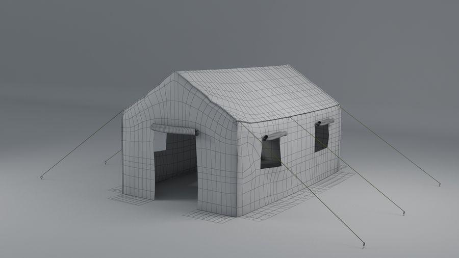Tente armée royalty-free 3d model - Preview no. 7