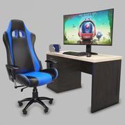 Kolekcja siedzeń dla graczy 3d model