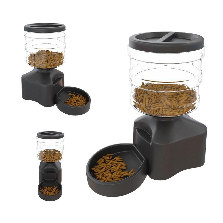 Distributeur automatique de nourriture pour animaux de compagnie royalty-free 3d model - Preview no. 7