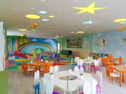 Cartoon Kinderzimmer Klassenzimmer 3d model