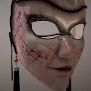 Venedik Maske 3d model