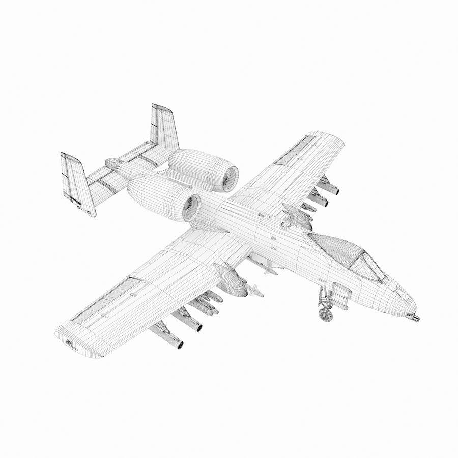 航空機 royalty-free 3d model - Preview no. 9
