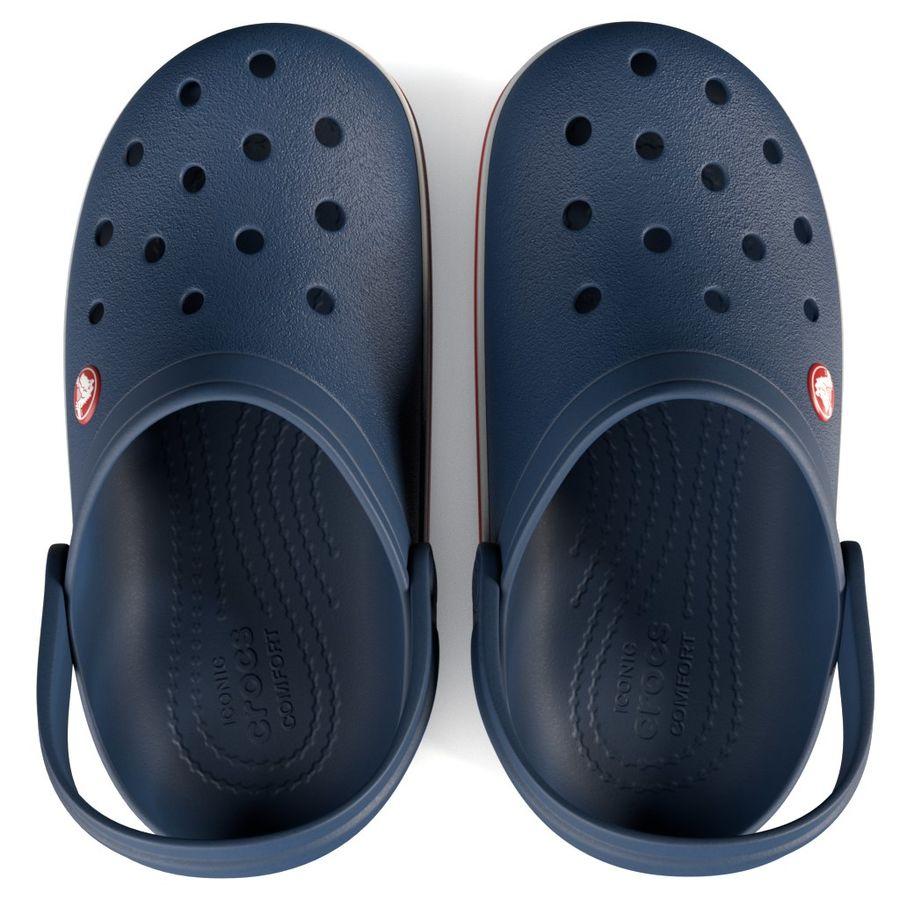 Crocs Crosband Clog royalty-free 3d model - Preview no. 5