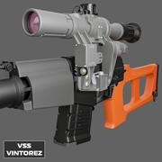 VSS VINTOREZ HIGH POLY 3d model