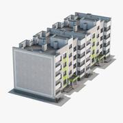 公寓楼02 3d model