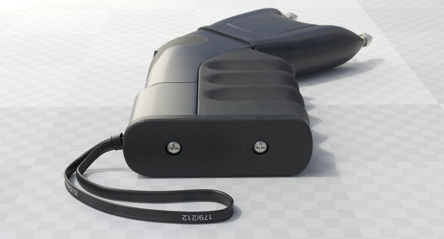 Taser royalty-free modelo 3d - Preview no. 5