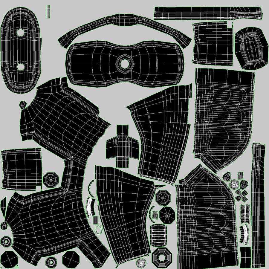 Taser royalty-free modelo 3d - Preview no. 17