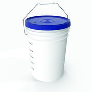 Home Brewing 5 Gallon Bucket 3d model