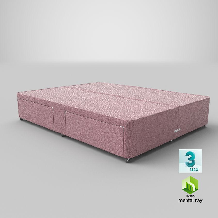 Bed Base 01 Blush(1) royalty-free 3d model - Preview no. 24