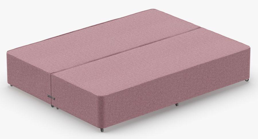 Bed Base 01 Blush(1) royalty-free 3d model - Preview no. 6
