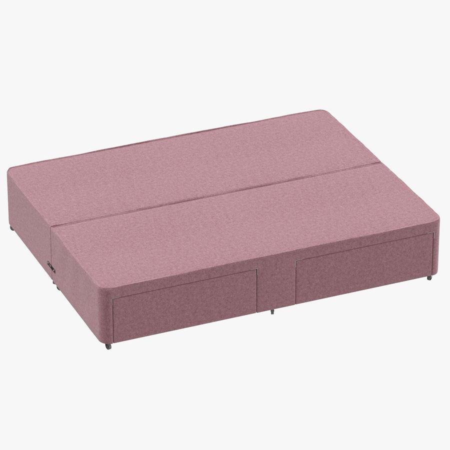 Bed Base 01 Blush(1) royalty-free 3d model - Preview no. 1