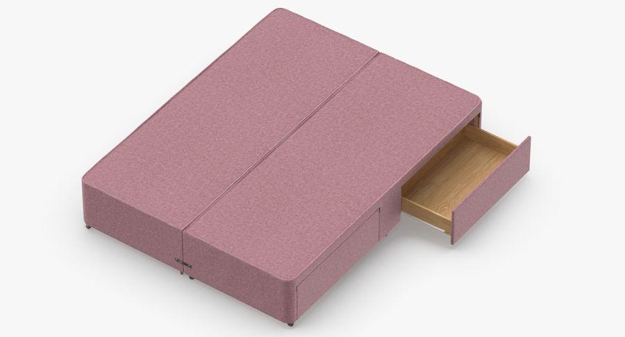 Bed Base 01 Blush(1) royalty-free 3d model - Preview no. 7