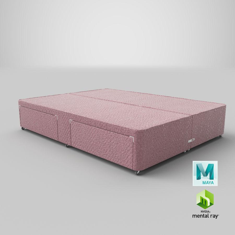 Bed Base 01 Blush(1) royalty-free 3d model - Preview no. 27