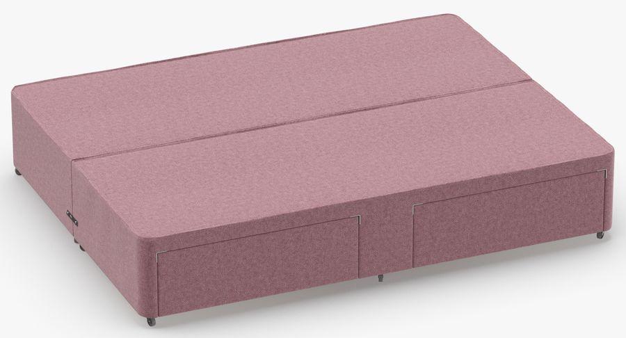 Bed Base 01 Blush(1) royalty-free 3d model - Preview no. 3
