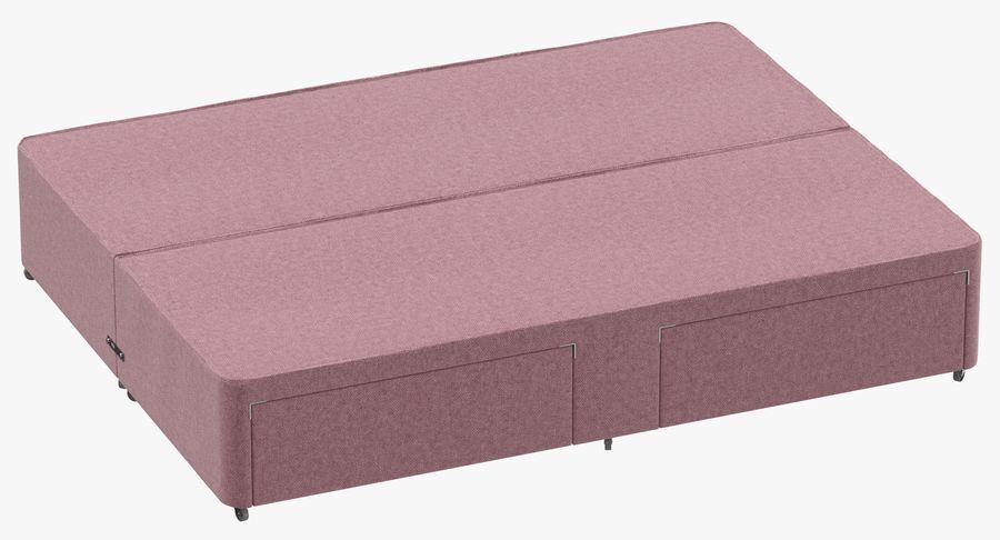 Bed Base 01 Blush(1) royalty-free 3d model - Preview no. 2