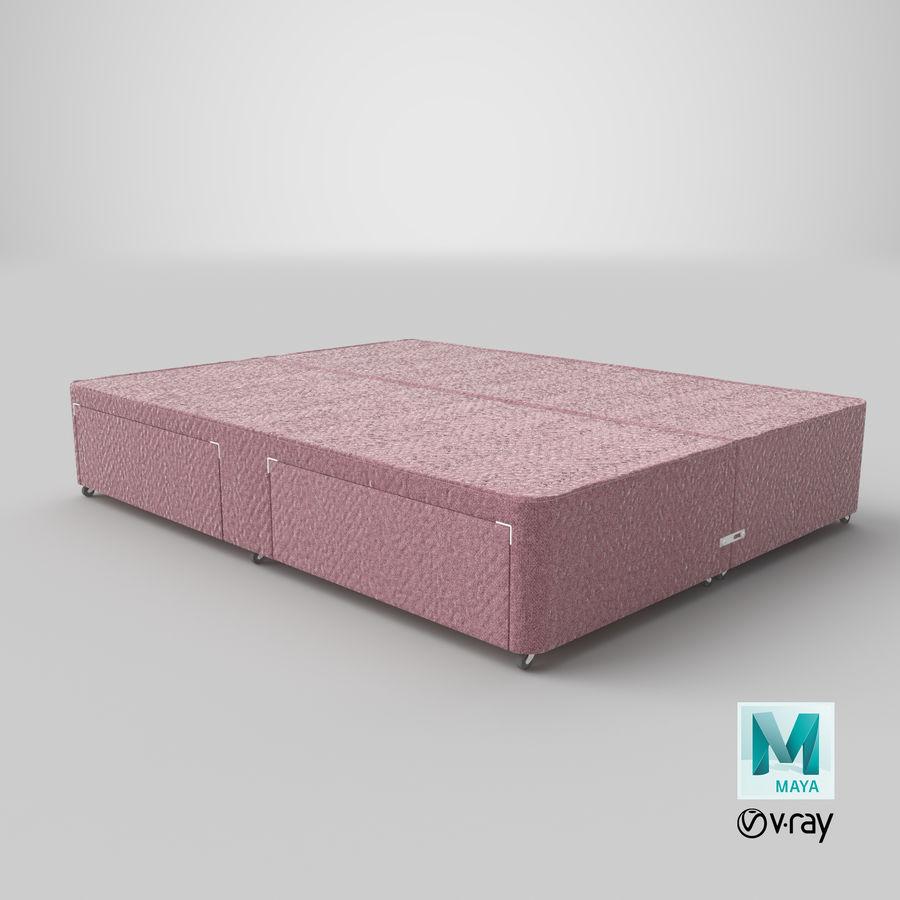 Bed Base 01 Blush(1) royalty-free 3d model - Preview no. 28