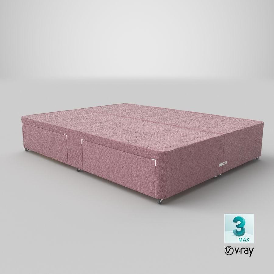 Bed Base 01 Blush(1) royalty-free 3d model - Preview no. 25