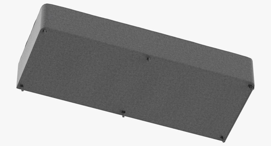 Основание кровати 04 Серый royalty-free 3d model - Preview no. 9
