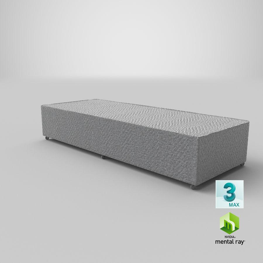 Основание кровати 04 Серый royalty-free 3d model - Preview no. 23
