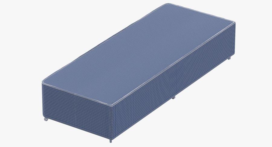 Основание кровати 04 Серый royalty-free 3d model - Preview no. 10