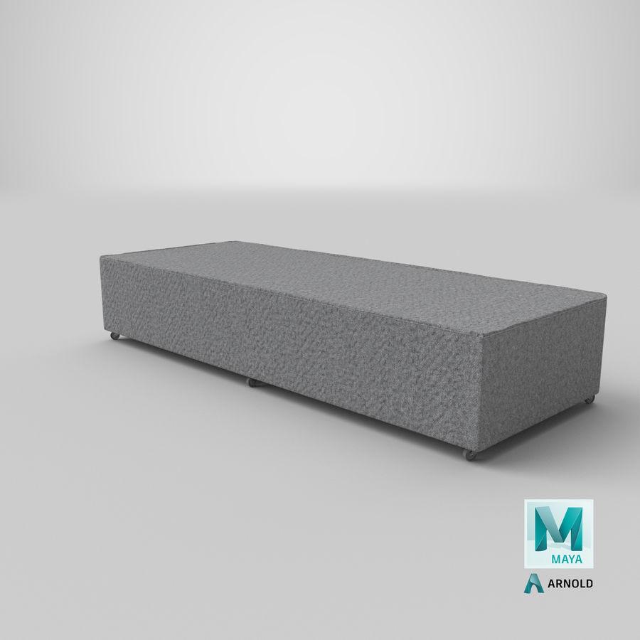 Основание кровати 04 Серый royalty-free 3d model - Preview no. 25