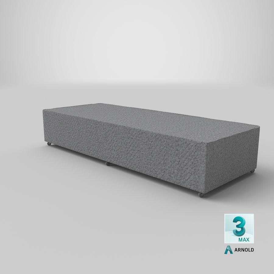 Основание кровати 04 Серый royalty-free 3d model - Preview no. 22