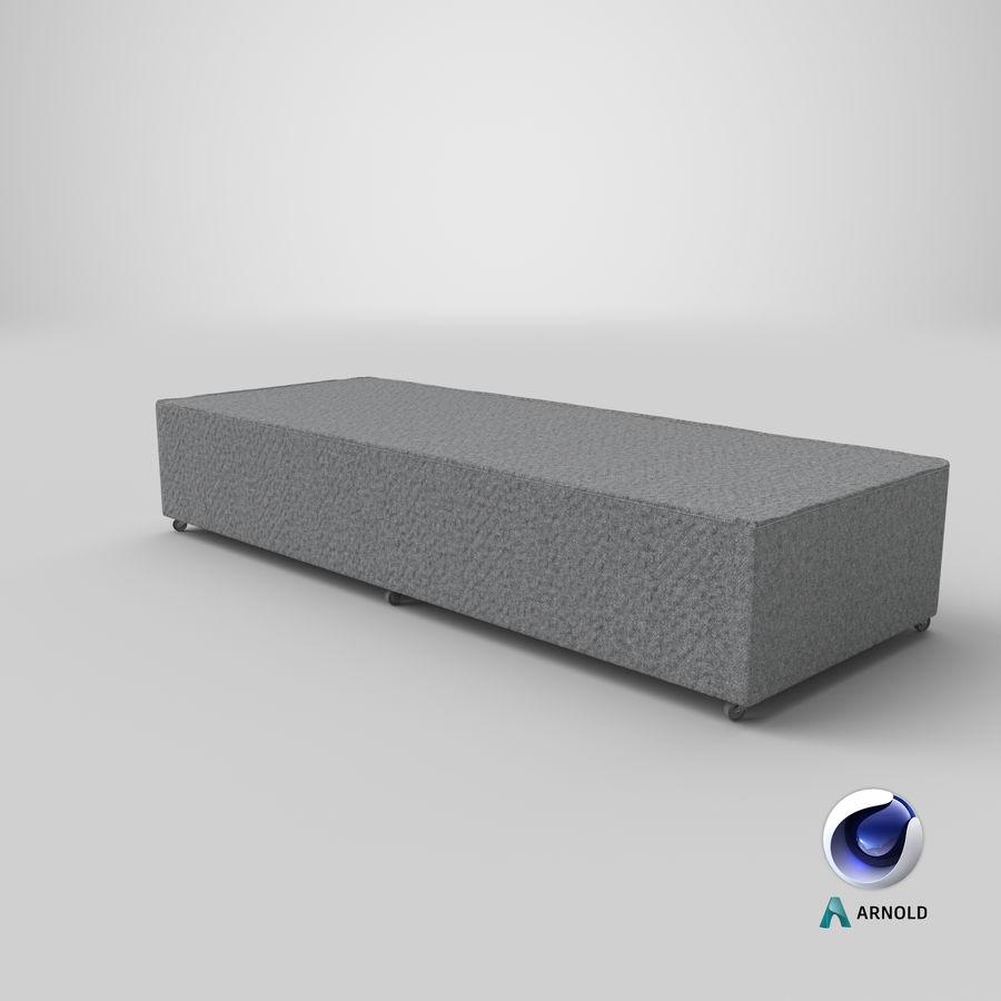 Основание кровати 04 Серый royalty-free 3d model - Preview no. 21