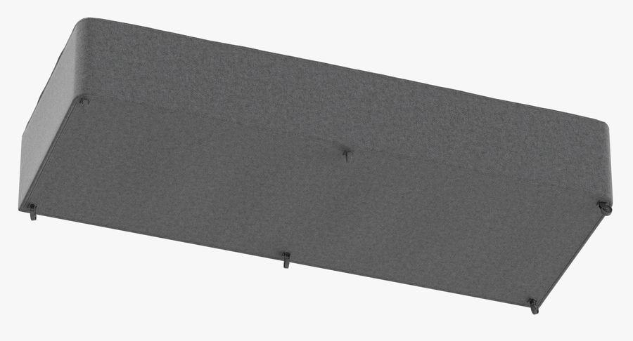 Основание кровати 04 Серый royalty-free 3d model - Preview no. 8