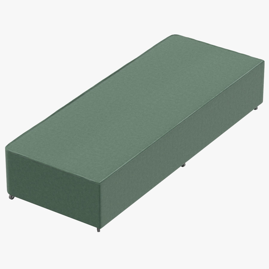 Bed Base 04 Mint royalty-free 3d model - Preview no. 1