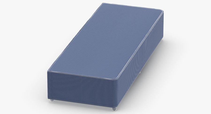 ベッドベース04オートミール royalty-free 3d model - Preview no. 14