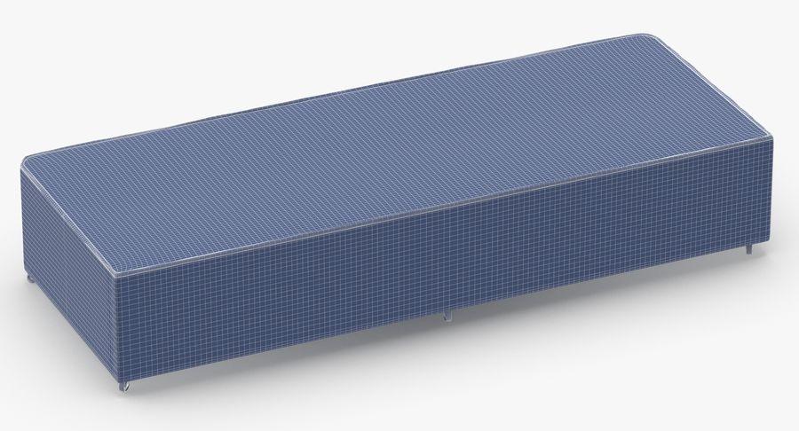 ベッドベース04オートミール royalty-free 3d model - Preview no. 13