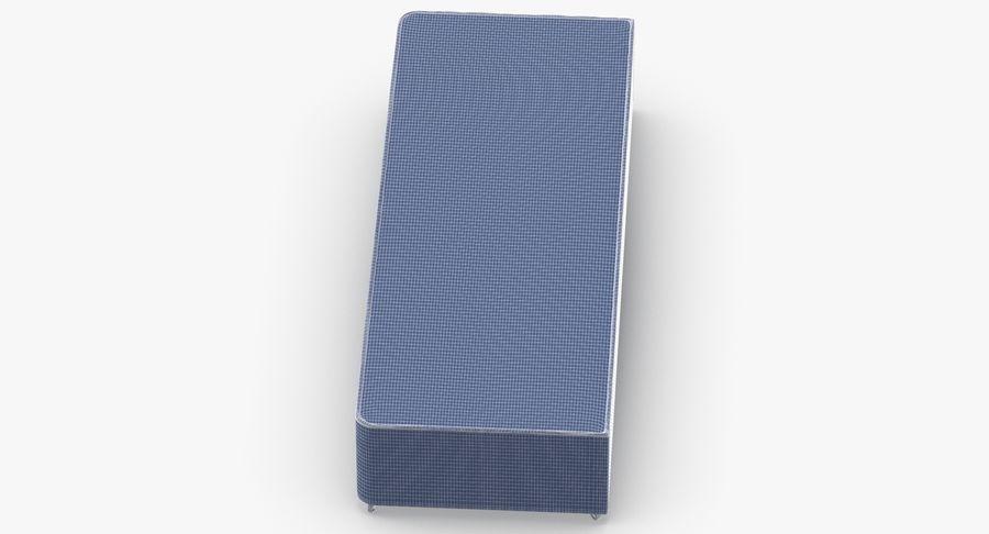 ベッドベース04オートミール royalty-free 3d model - Preview no. 15