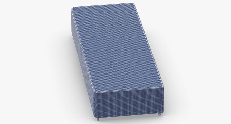 ベッドベース04オートミール royalty-free 3d model - Preview no. 12