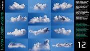 VDB Облака Том 3 - Кучево-дождевые облака 3d model