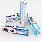 Signal Toothpaste 100ml Boxes collection 3d model