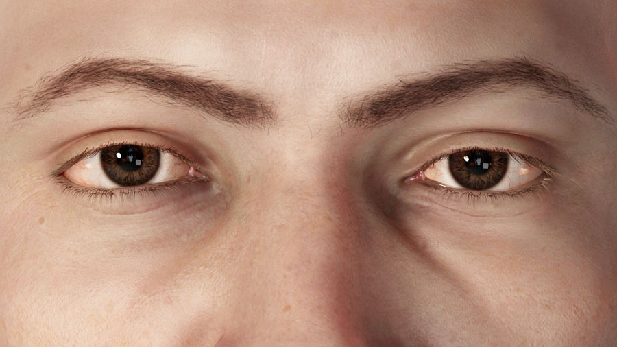Realistisches menschliches Auge royalty-free 3d model - Preview no. 4