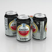 Puszka piwa Amstel Extra 330 ml 3d model