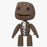Sackboy personnage du jeu 3d model