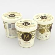 Magnum Gelato Cioccolato Bianco 440ml 3d model