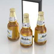 Butelka do piwa Modelo Cerveza 355 ml 3d model