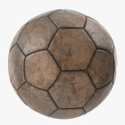 Old Leather Ball 3d model