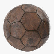 Old Brown Ball 3d model