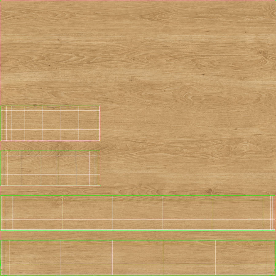 Bettgestell 02 Holzkohle offen royalty-free 3d model - Preview no. 19
