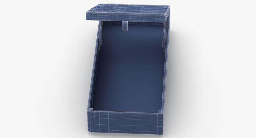 Основание кровати 02 Открытый уголь royalty-free 3d model - Preview no. 15