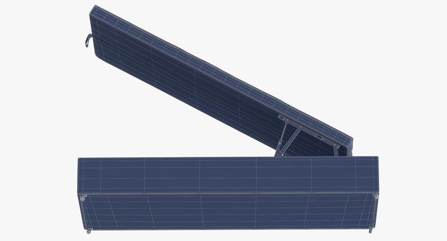Основание кровати 02 Открытый уголь royalty-free 3d model - Preview no. 17