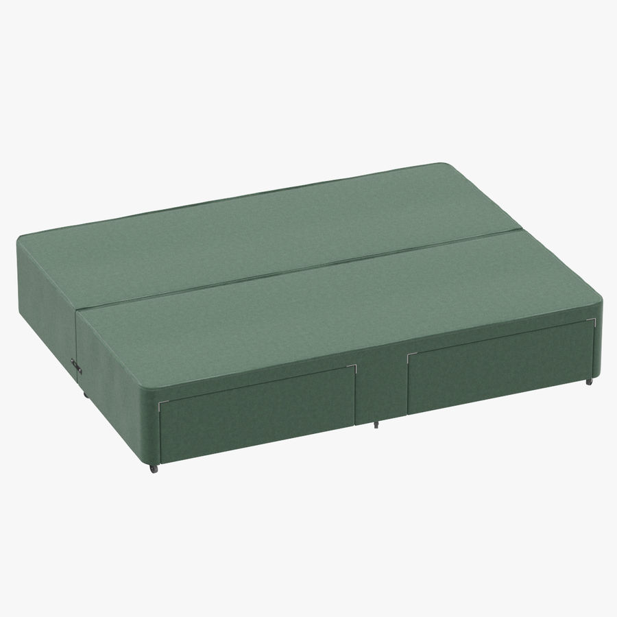 Bed Base 03 Mint royalty-free 3d model - Preview no. 1